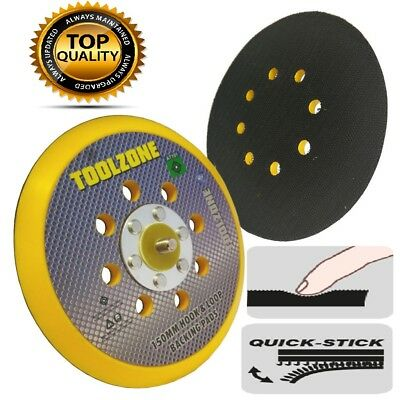 "6"" 150 mm Dual Action Hook & Loop DA Orbital Sanding/Polishing Backing Pad 5/16"""