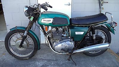 TRIUMPH T150 Trident, first model, unrestored, runs well