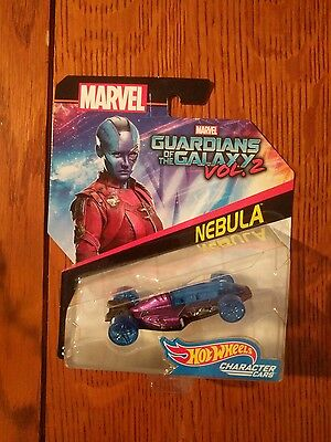 Hot Wheels Marvel Guardians Of The Galaxy Vol. 2 NEBULA
