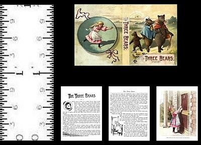 1:12 MINIATURE BOOK SING A SONG OF SIXPENCE WALTER CRANE