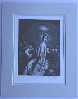 Garry Shead Immortal Poet 56/100 Limited  Edition Etching