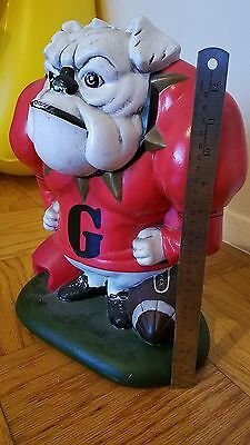 Large Vintage Bull Dog figurine- over 13 inches