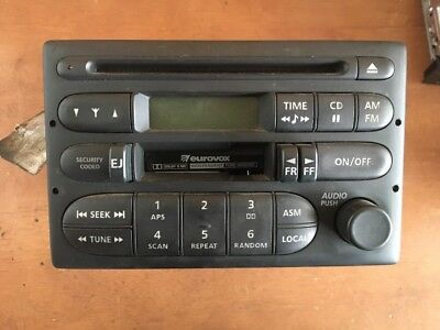 HOLDEN COMMODORE VT-VX, RADIO CASSETTE CD Player 1997-2002 Tested Code