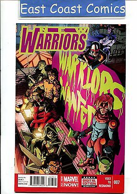 New Warriors #7 - All New Marvel Now