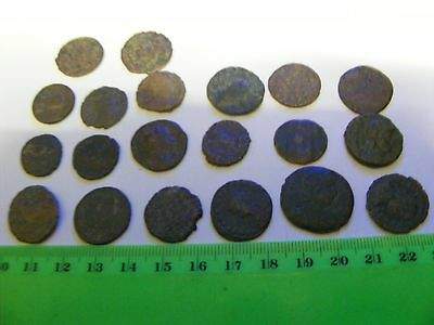 Lot of 20  Ancient  Roman Coins,with holders & pages....Resale .$500.00 Retail .