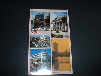 . Ireland Dublin  Postcard Not  Posted  (Light Is From Camera