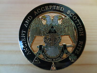Masonic Lapel Pins Badge Mason Freemason B26 ANCIENT AND ACCEPTED SCOTTISH RITE