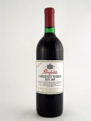 1986 PENFOLDS Bin 389 Cabernet Shiraz C Isle of Wine