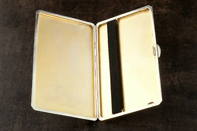Replacement Black Elastic Kit For Silver Cigarette Cigar Case 3X Strips & Widths