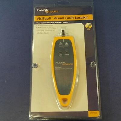 Brand New Fluke VisiFault Visual Fault Locator, Original Packaging