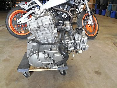 08 Hyosung Comet GT650R Stong Running Comp. Tested Engine Motor VIDEO 19K
