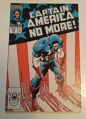 Captain America # 332  (no more)  - 1987 -   Marvel comic