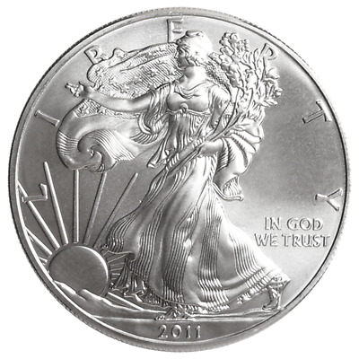 2011 $1 American Silver Eagle 1 oz Brilliant Uncirculated