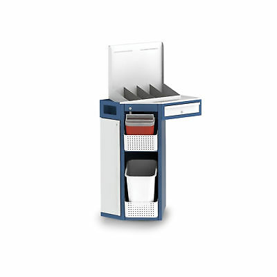 """Freestanding Phlebotomy """"Wall"""" Station Right Hand Single 1 ea"""