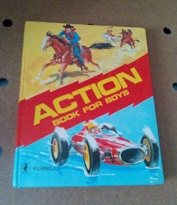 Action book for boys 1969