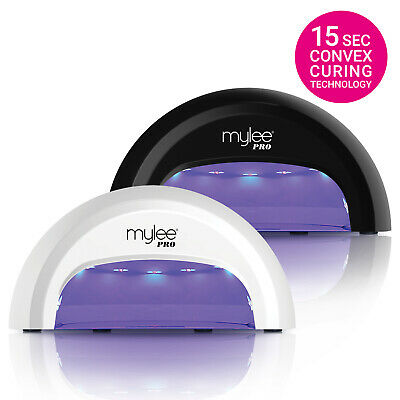 Mylee PRO Convex Nail Dryer LED Lamp FAST Gel Manicure Curing w Timer - NEW 2017