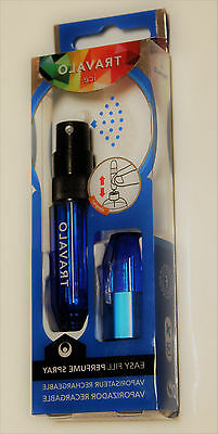 Travalo ICE Easy Fill Perfume Spray 5ml Blue