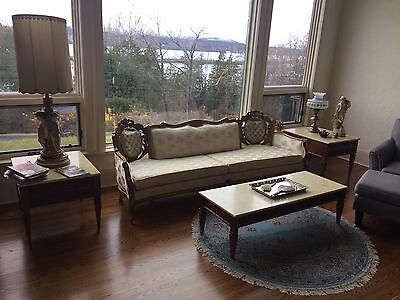 Great condition vintage provivincial  living Room Set- local pick up only