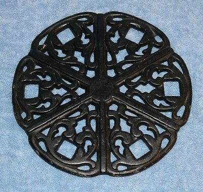 Cast Iron Simmering Cover for Cook Stove W & P Mfg. Co, 7 1/2""