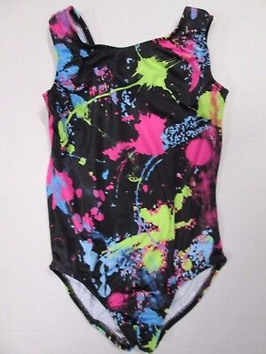 NEW Girl's Leotard Size MC (7-8) Medium Child Dance Gymnastics Jazz Fully Lined!