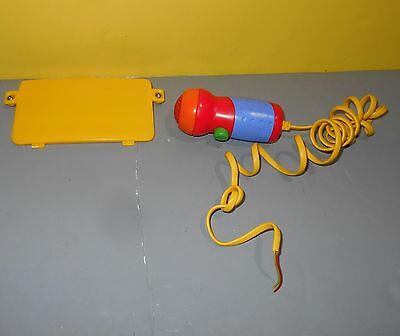 1999 Fisher Price Tuff Stuff Cassette Tape Player Replacement Microphone & Cover