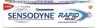 Sensodyne Clinically Proven Fast Rapid Relief Long Lasting Protection Toothpaste