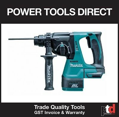 New Makita Brushless Dhr242Z 18V Cordless Rotary Hammer Drill Sds Plus Skin