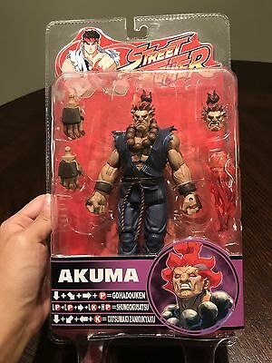 SOTA Toys Street Fighter Akuma Round 4 Exclusive Action Figure! FREE SHIPPING!