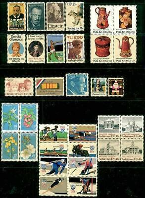 1979 Commemorative Year set   (33 Stamps) - MNH