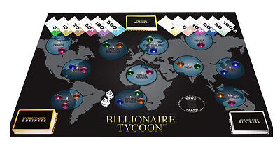 Wholesale Job Lot of 18 x BILLIONAIRE TYCOON BOARD GAME BRAND NEW