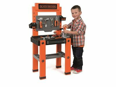 Kids Toy Work Tools Station Smoby Black & Decker Tool Bench Boys Activity Games