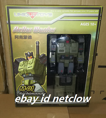 Transformers Unique Toys M-01 Archimonde Brawl in Stock