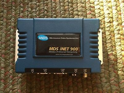 USED MDS Microwave Data Systems iNET 900 Wireless IP Ethernet Radios(GREAT DEAL)