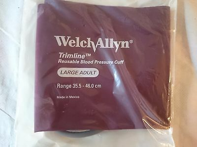 Welch Allyn Trimline Reuseable Blood Pressure Cuff Large Adult 35.5cm to 46cm