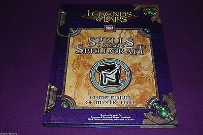 D20 SYSTEM LEGENDS & LAIRS JDR Jeu de Role - Spells and Spellcraft - Neuf