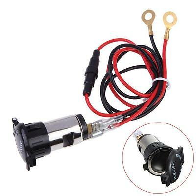 12V Car Motor  Waterproof Female Cigarette Lighter Socket Power Plug Outlet MT
