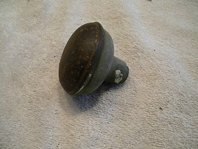 Vintage Antique Metal Hollow Door Knob with Threaded Shaft Mount