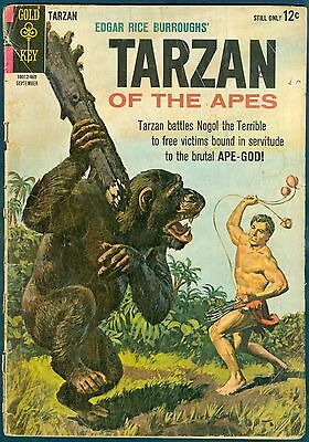 From Gold Key, Tarzan #145 in GD-