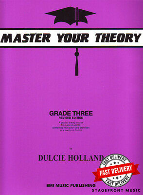 Master Your Theory Grade 3 / Three - NEW Revised Edition