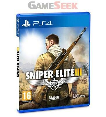 Sniper Elite 3 (Iii) - Playstation Ps4 Brand New Free Delivery