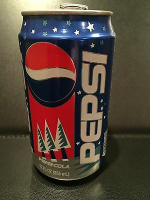 Pepsi Holiday Snowman 1998 Can