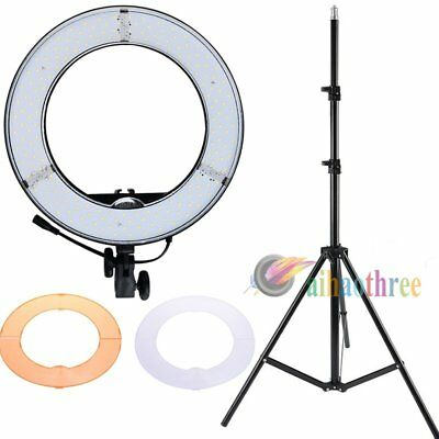 RL-12 50W LED Ring Light 5500K + Light Stand For Studio Camera Video Photography