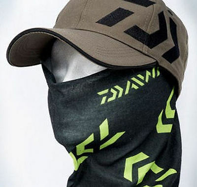 Daiwa Micromesh Head Sock - Black & Green