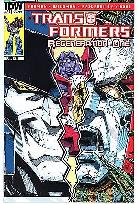 Transformers Regeneration One  #84  * Variant *  Cover B   Nm