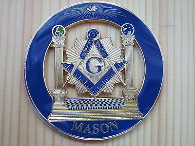 Masonic Car Badge Emblems E3 Mason Freemason