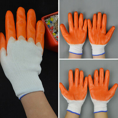 NEW Gardening Rubber glove For Safety industrial household Work Resistance