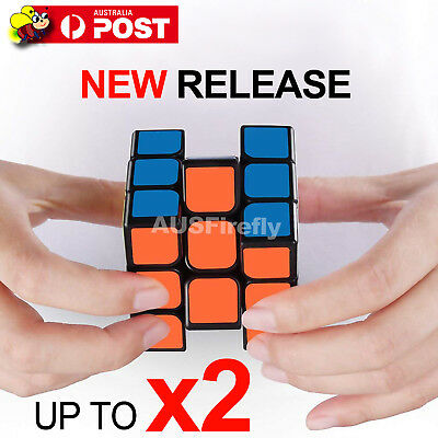 Magic Cube 3x3x3 Super Smooth Fast Speed Rubix Rubik Puzzle Competition AU Stock