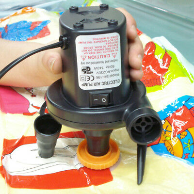 AC230V Electric Air Pump Inflate Deflate Air Bed Mattress Boat Electric Inflator