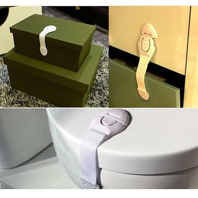 Baby Kids Safe Lock Toilet Drawer Cupboard Door Drawer Washing machine Safety