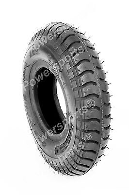Deestone D603 4 Ply 2.50-4 Lug Tread Pneumatic T/l Tyre For Mobility Trolley New